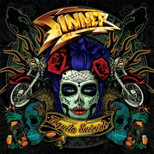 SINNER - Tequila Suicide cover