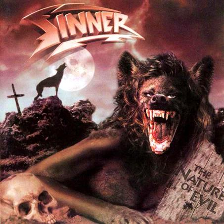 SINNER - The Nature of Evil cover