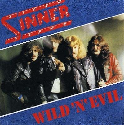 SINNER - Wild 'n' Evil cover