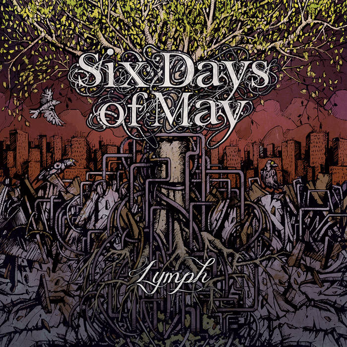 SIX DAYS OF MAY - Lymph cover
