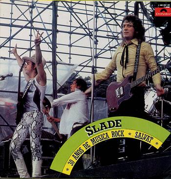 SLADE - 30 Años De Musica Rock Salvat cover