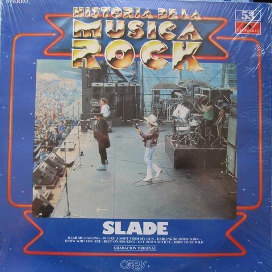 SLADE - Historia De La Música Rock Vol. 53 cover