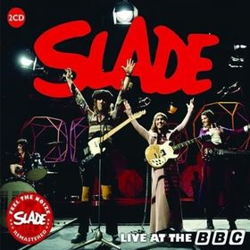 SLADE - Live At The BBC cover