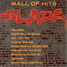 SLADE - Wall Of Hits cover