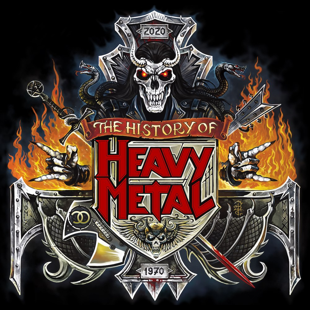 SLAVES TO FASHION - The History of Heavy Metal cover