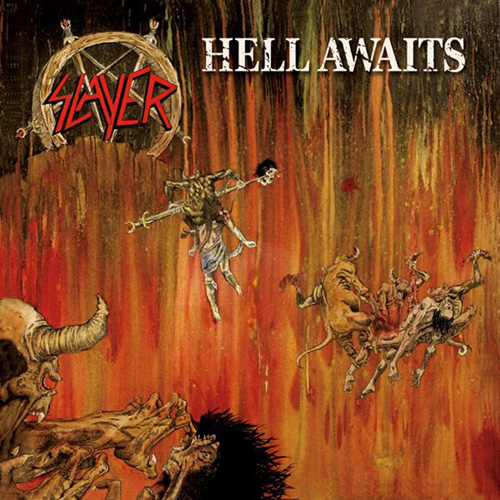 SLAYER - Hell Awaits cover