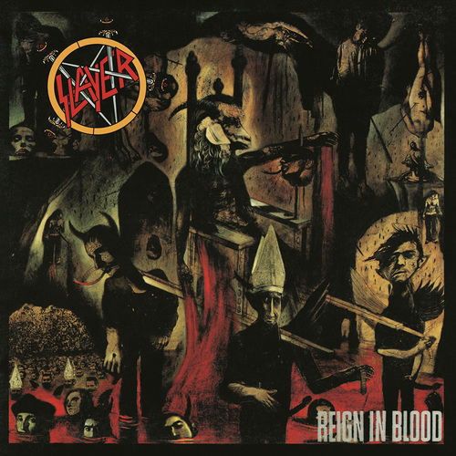 SLAYER - Reign in Blood cover