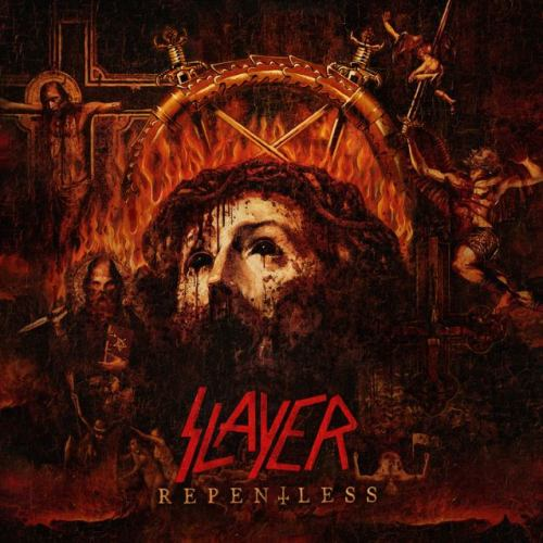 SLAYER - Repentless cover