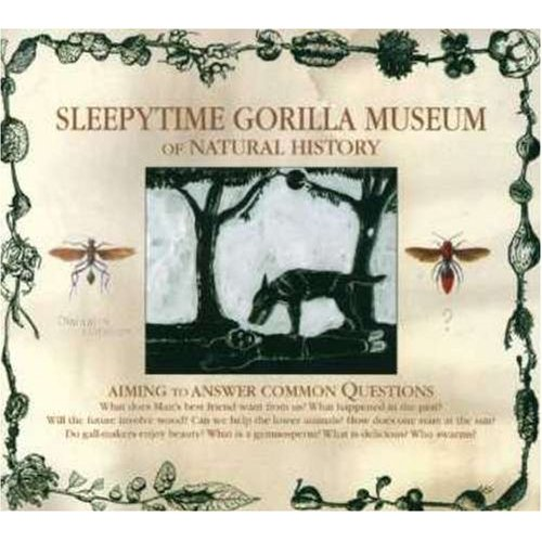 SLEEPYTIME GORILLA MUSEUM - Of Natural History cover