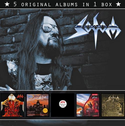 SODOM - 5 Original Albums in 1 Box (2013) cover