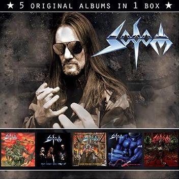 SODOM - 5 Original Albums in 1 Box (2014) cover