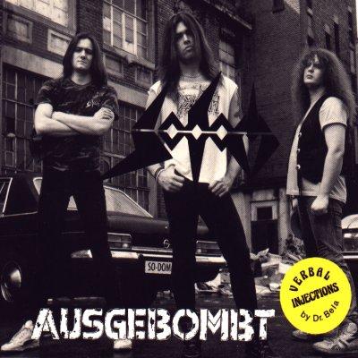SODOM - Ausgebombt cover