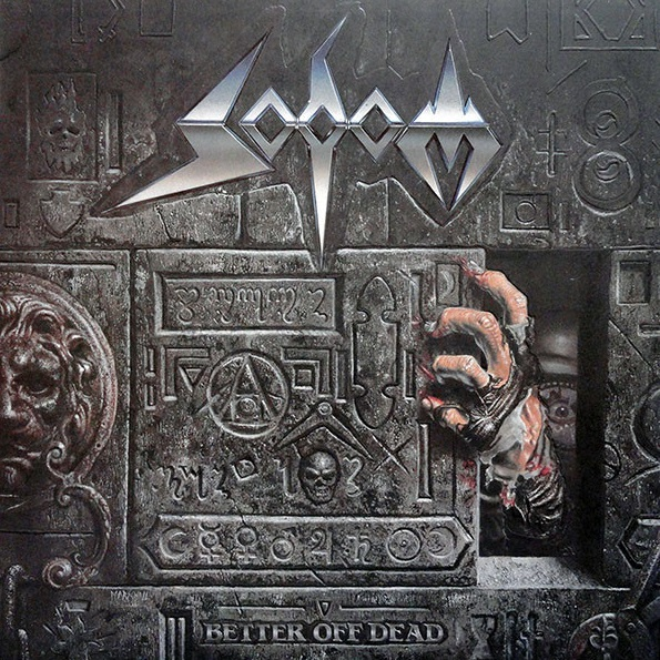 SODOM - Better Off Dead cover