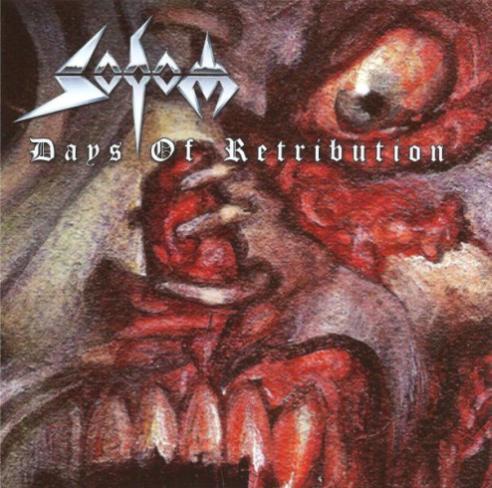 SODOM - Days of Retribution cover