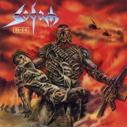 SODOM - M-16 cover