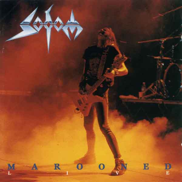SODOM - Marooned: Live cover