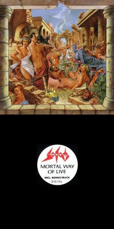 SODOM - Mortal Way of Live cover