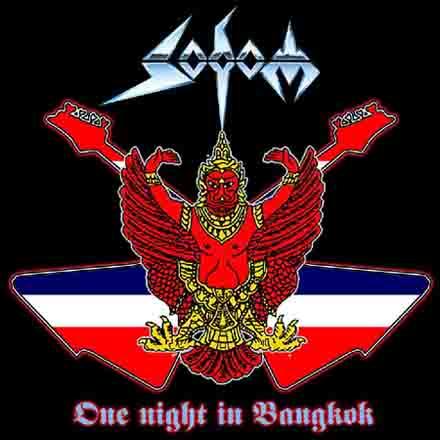 SODOM - One Night in Bangkok cover