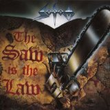 SODOM - The Saw Is the Law cover