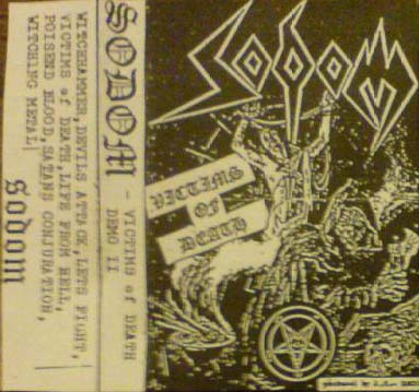 SODOM - Victims of Death cover