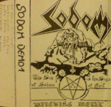 SODOM - Witching Metal cover