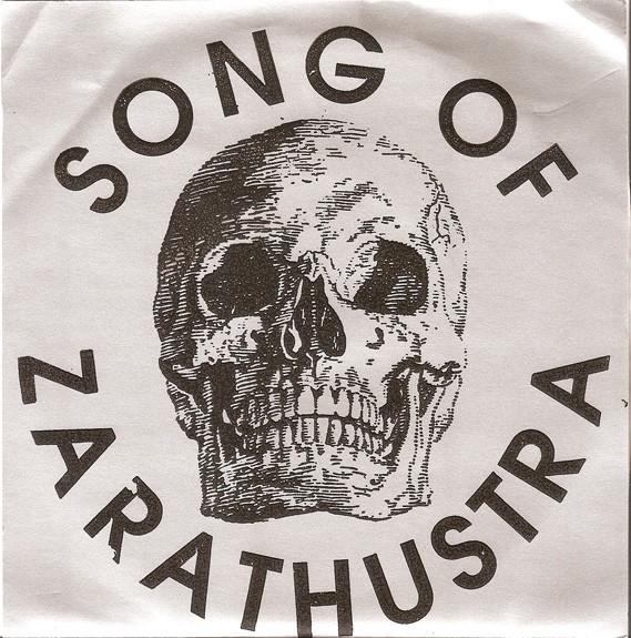 SONG OF ZARATHUSTRA - Song Of Zarathustra cover