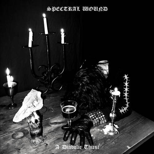 SPECTRAL WOUND - A Diabolic Thirst cover