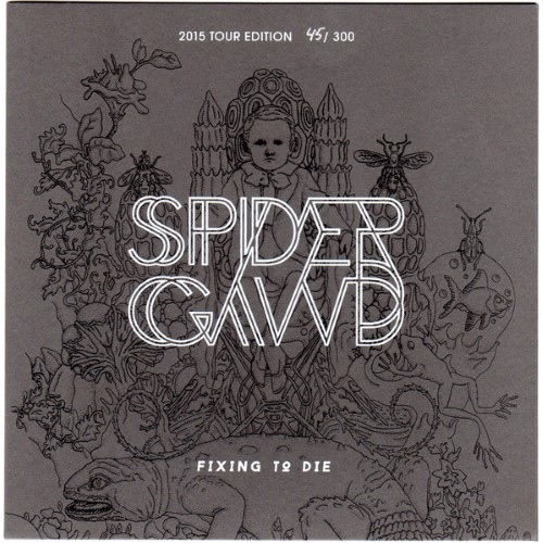 SPIDERGAWD - Fixing To Die cover