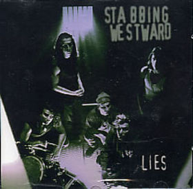 STABBING WESTWARD - Lies cover