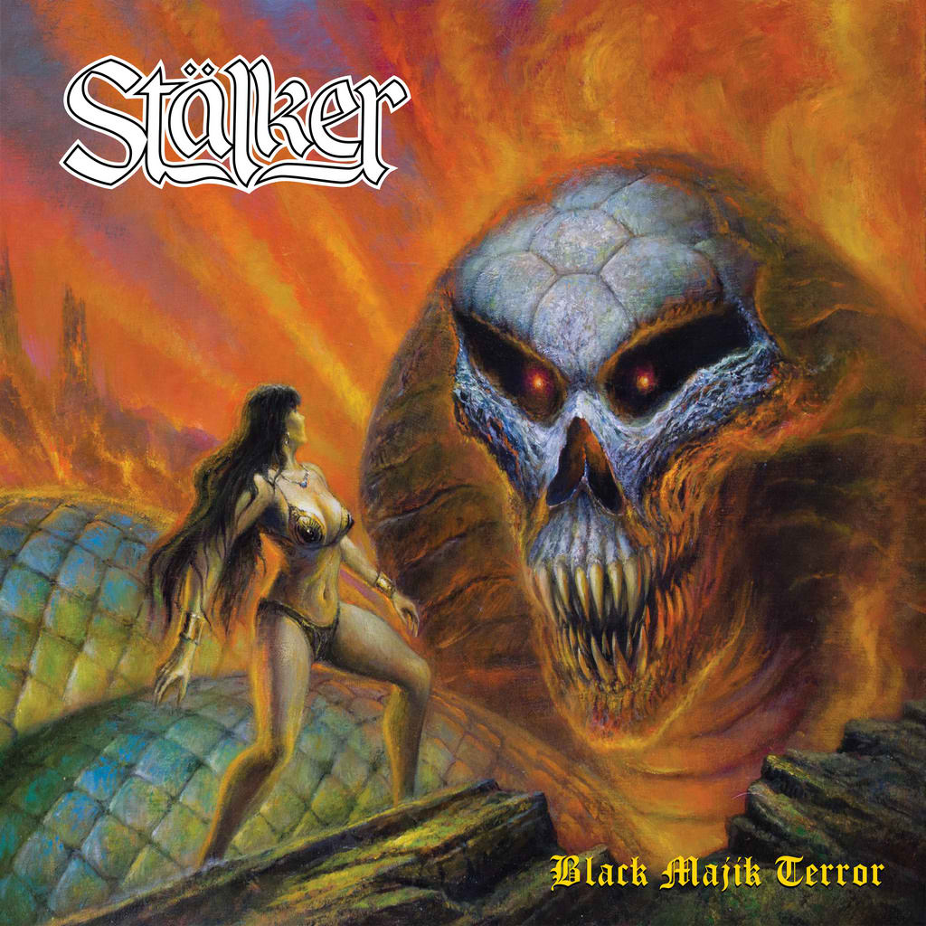 STALKER - Black Majik Terror cover
