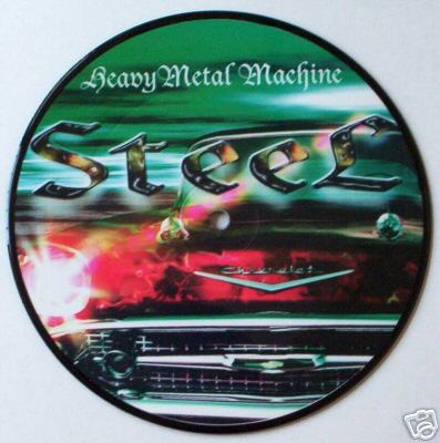 STEEL - Heavy Metal Machine cover