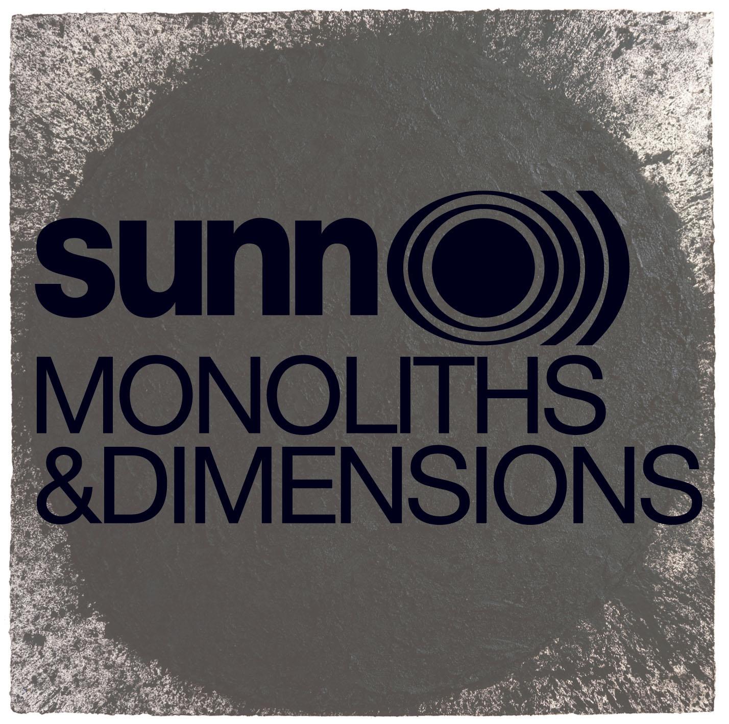 SUNN O))) - Monoliths & Dimensions cover