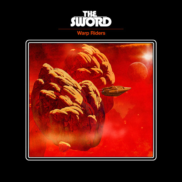 THE SWORD - Warp Riders cover