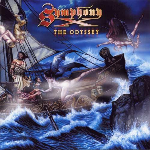 SYMPHONY X - The Odyssey cover