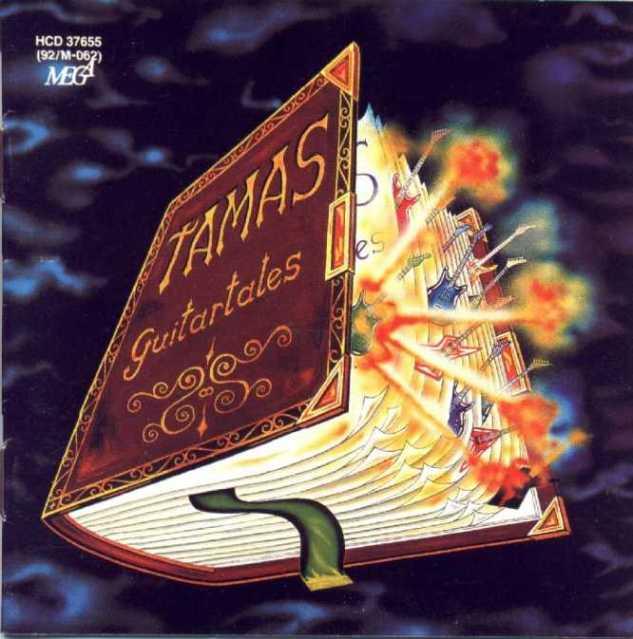 TAMÁS SZEKERES - Guitartales cover