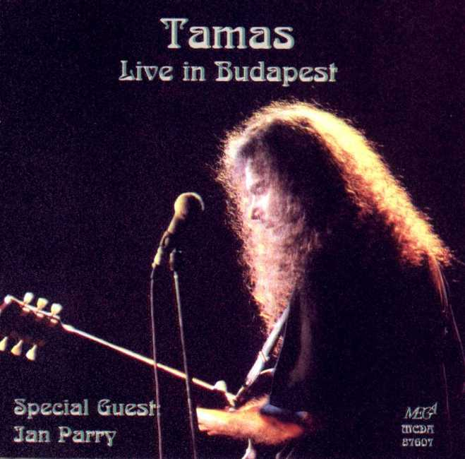 TAMÁS SZEKERES - Live In Budapest cover