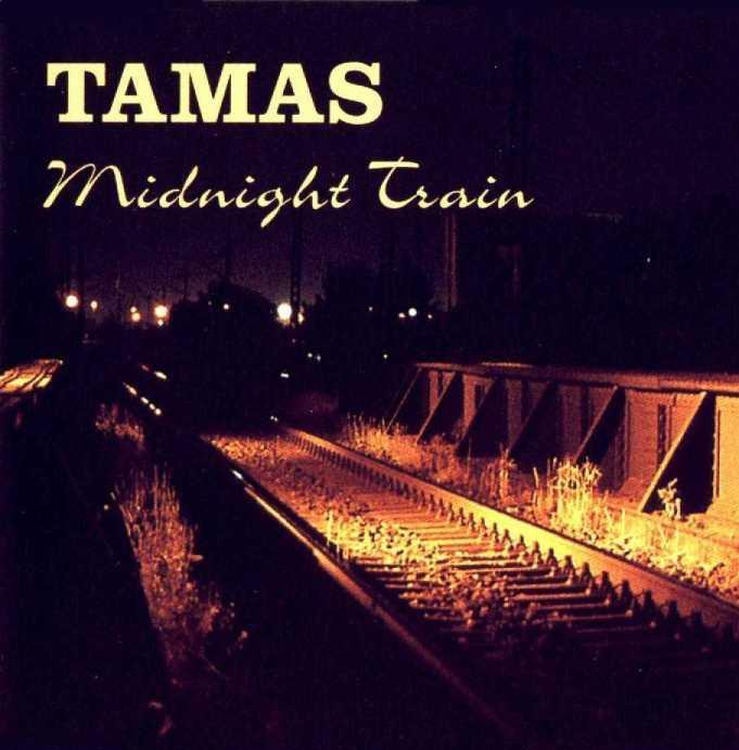 TAMÁS SZEKERES - Midnight Train cover