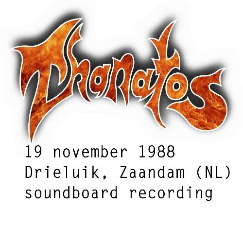 THANATOS - Thanatos Live In Zaandam 1988-11-19 cover