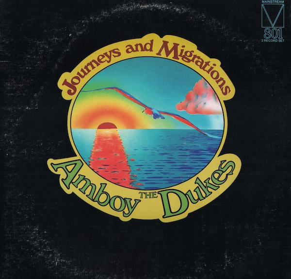 THE AMBOY DUKES - Journeys and Migrations cover