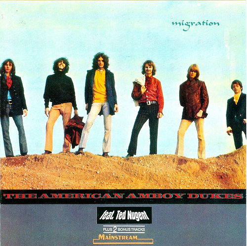 THE AMBOY DUKES - Migration cover