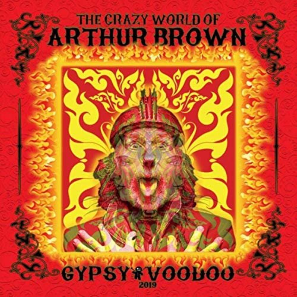 THE CRAZY WORLD OF ARTHUR BROWN - Gypsy Voodoo cover