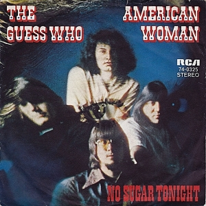 THE GUESS WHO - American Woman (2) cover