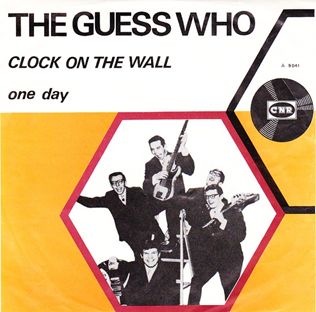 THE GUESS WHO - Clock on the Wall cover