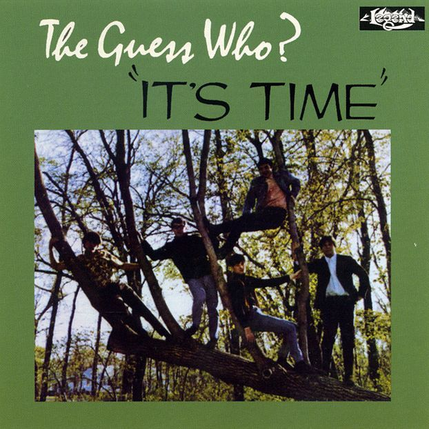THE GUESS WHO - It's Time cover