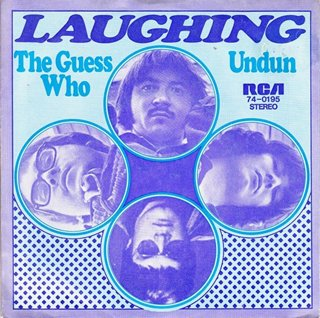 THE GUESS WHO - Laughing cover