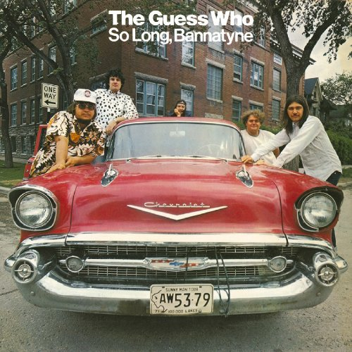 THE GUESS WHO - So Long, Bannatyne cover
