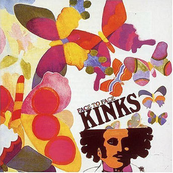 THE KINKS - Face To Face cover
