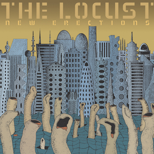 THE LOCUST - New Erections cover