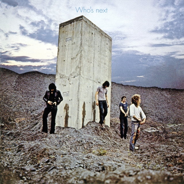THE WHO - Who's Next cover