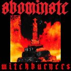 ABOMINATE Witchburners album cover